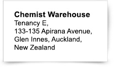 Chemist Warehouse | Reply Paid 612 Virginia 4014