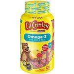 Lil Critters Omega 3 120 Gummies