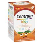 Centrum Kids Multi Vitamin 60 Orange Tablets