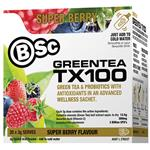 BSc Green Tea TX100 Super Berry 20 x 3g Serve