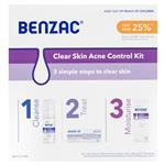 Benzac Acne Control 3 Step Acne Starter Kit
