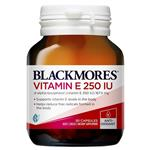 Blackmores Vitamin E 250IU 50 Capsules NEW
