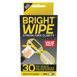 Bright Wipe Lens Cleaning Wipes 30 Pack