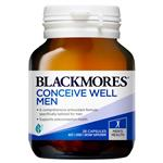 Blackmores Conceive Well Men 28 Capsules New