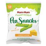 Mum-Mum Pea Snacks Cheese 12g