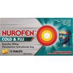 Nurofen Cold and Flu PE 12 Tablets