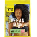 Protein World Vegan Blend Strawberries & Cream Pouch 1kg