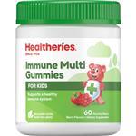 Healtheries Kids Immunity Gummy Bears 60 Gummies