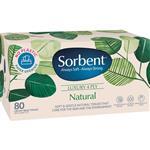 Sorbent Facial Tissue Natural 80 Pack