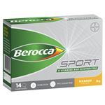 Berocca Sport Electrolyte Powder Orange 14 Pack