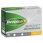 Berocca Sport Electrolyte Powder Orange 24 Pack