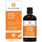 Kiwiherb Organic De-Stuff For Kids 100mL