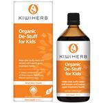 Kiwiherb Organic De-Stuff For Kids 200mL