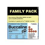 Buccaline 28 Tablets (Pharmacist Only)