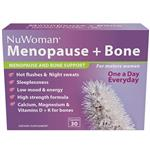 NuWoman Menopause + Bone Health Support One A Day 30 Capsules