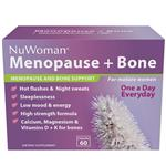 NuWoman Menopause + Bone Health Support One A Day 60 Capsules