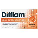 Difflam Sugar Free Orange 16 Lozenges