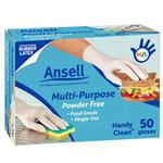 Ansell Glove Handy Disposable 50