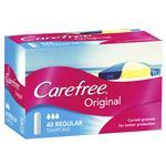 Carefree Original Tampons Regular 40 Pack