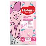 Huggies Jumbo Toddler Girl 72 Pack