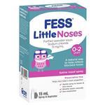 Fess Little Noses Saline Nose Spray + Aspirator 15ml
