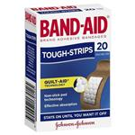 Band-Aid Tough Strips 20 Pack