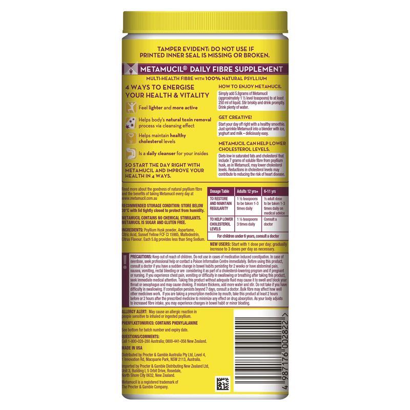 Smooth Texture Lemon-Lime Flavour