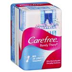 Carefree Barely There Liners Unscented 24 Pack