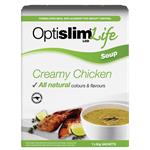 OptiSlim Life Soup Creamy Chicken 50g x 7