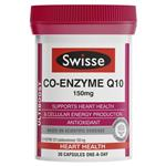 Swisse Ultiboost Co-Enzyme Q10 150mg 30 Capsules