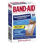 Band-Aid Waterproof Tough Strips 20 Pack