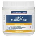 Ethical Nutrients MEGAZORB Mega Magnesium Powder Raspberry 200g