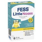 Fess Little Noses Saline Nose Drops +Aspirator 25ml
