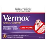 Vermox Choc Chew 6