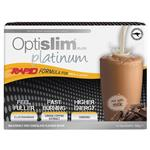 Optislim VLCD Platinum Chocolate Shake 21x25g Sachets