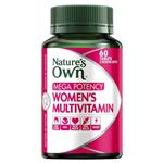 Nature's Own Mega Potency Women's Multivitamin 60 Tablets