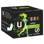 U by Kotex Liners Sport 30 Pack