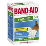 Band-Aid Adhesive Fabric Strips 50 Pack