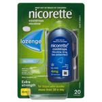 Nicorette Quit Smoking Cooldrops Lozenges Extra Strength Icy Mint 4mg 20 Pieces