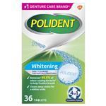 Polident Denture Cleanser Whitening Tablets 36