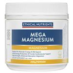 Ethical Nutrients MEGAZORB Mega Magnesium Powder Citrus 200g