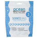 Ocean Sickness Bags 3 Pack