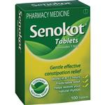 Senokot Tablets Constipation Relief Laxative 100 Pack