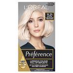 L'Oreal Paris Preference Permanent Hair Colour - 11.21 Ultra Light (Intense, fade-defying colour)