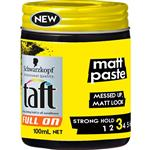 Taft Full On Matt Paste 100ml