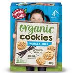 Whole Kids Organic Cookies Vanilla 80g