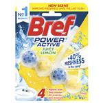 Bref Power Active Juicy Lemon Toilet Block 50g