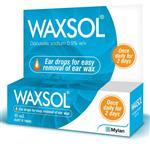 Waxsol Ear Drops 0.5% 10mL