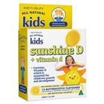 Key Sun All Natural Kids Sunshine D Plus Vitamin D 12 Lozenges
