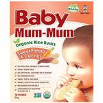 Baby Mum-Mum Rice Rusks Sweet Potato & Carrot Flavour 36g